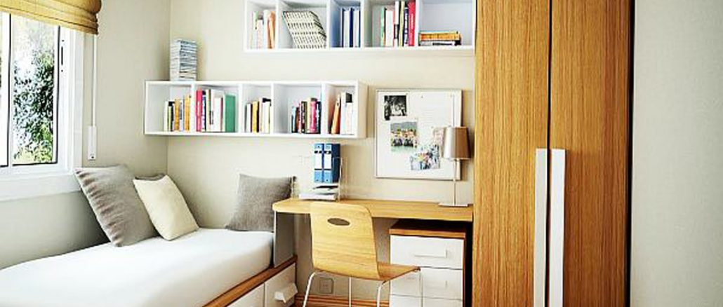 simple storage solutions for small spaces sweet diy hacks. Black Bedroom Furniture Sets. Home Design Ideas