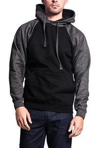 G-Style USA Premium Heavyweight Contrast Raglan Sleeve Pullover Hoodie