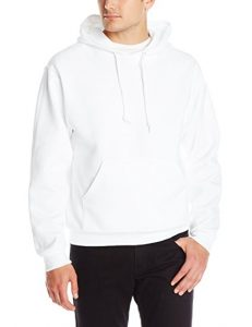 Jerzees Men's Adult Pullover Hooded Sweatshirt