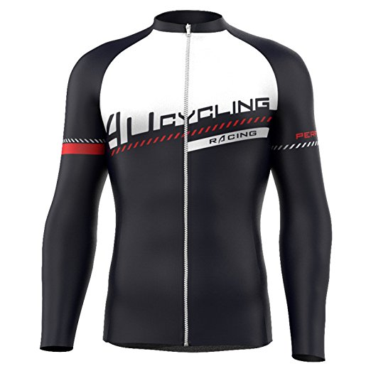 4ucycling Professional Men s Long Sleeve Comfortable Cycling Jersey or  Compression Tights Team Edition 8f8b96b0f
