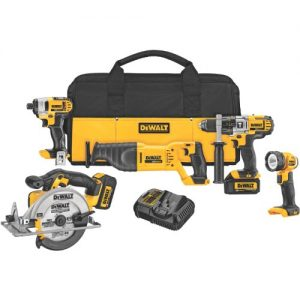 DeWalt DCK590L2 Five-Tool Combo Kit