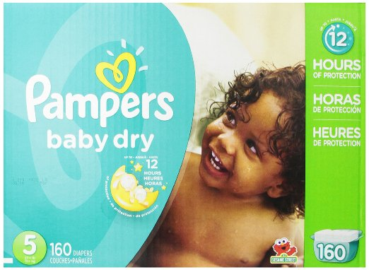 Pampers Baby Dry Diapers Economy Pack Plus