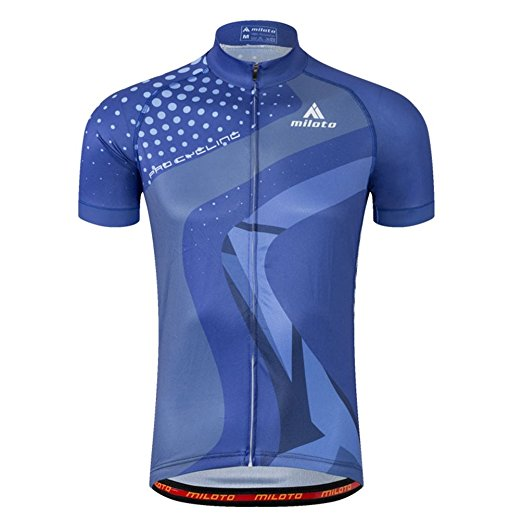 Uriah Men's Reflective Cycling Jersey