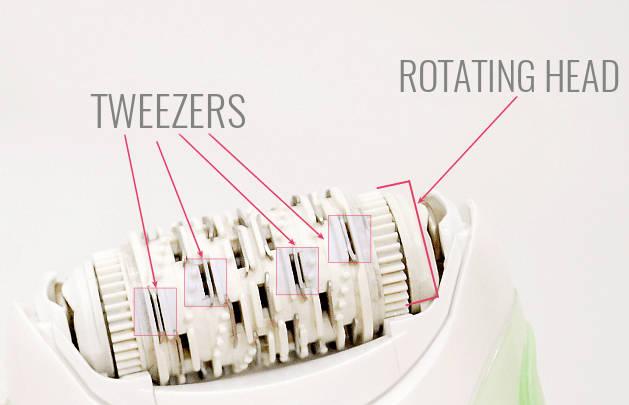 epilator tweezers