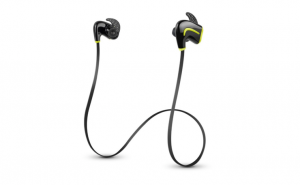 Photive EB200 Wireless Bluetooth Earbuds. Secure fit Sweat-Proof Bluetooth Headphones - Black