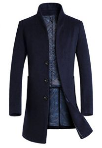 Vogstyle Men's Trench Coat