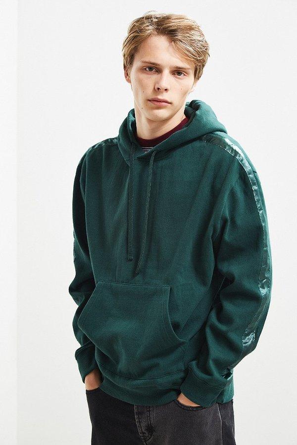 Urban Outfitters UO Tonal Tape Hoodie Sweatshirt