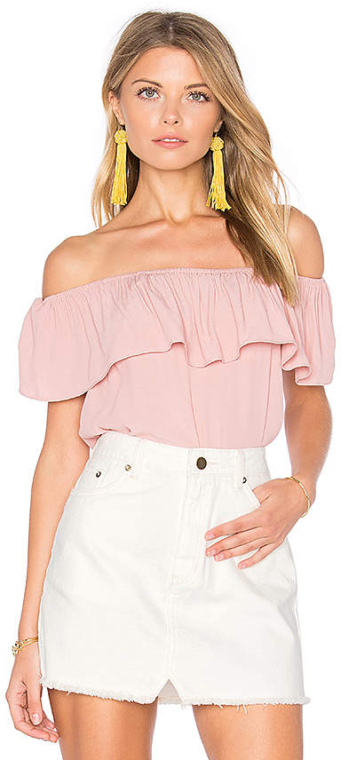 WYLDR Indie Summer Off Shoulder Top