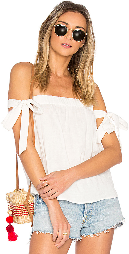 by the way. Ora Off Shoulder Top $44 Buy at Revolve