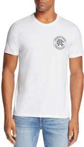 REIGNING CHAMP Crest Logo Crewneck Short Sleeve Tee