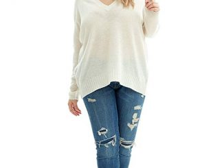 NAKEDCASHMERE Women's 100% Pure Cashmere Skyler Sweater