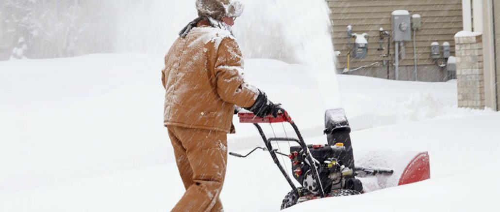 snow blowing tips