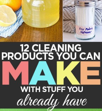12 Cleaning Products You Can Make With Stuff You Already Have featured image